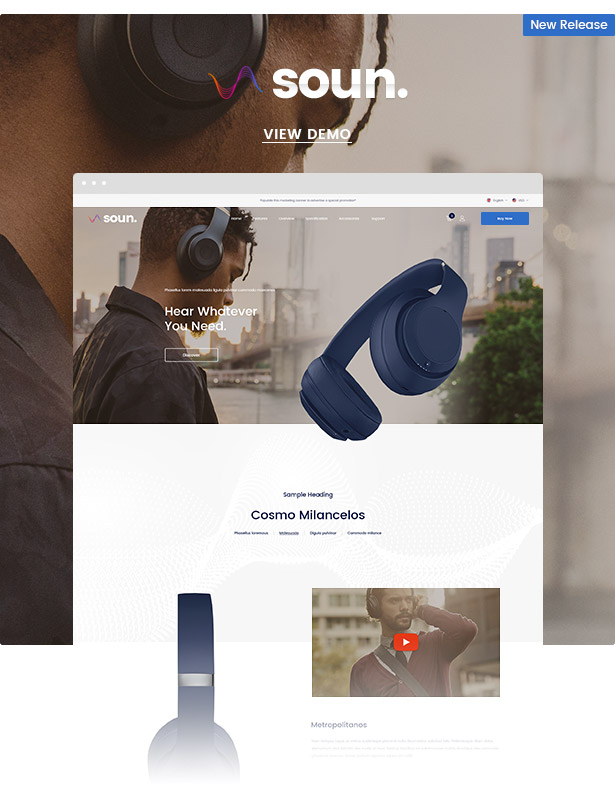 Ella - Responsive Shopify Template (Sections Ready) - 5