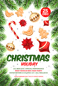 Christmas Holiday Flyer V3 - 8