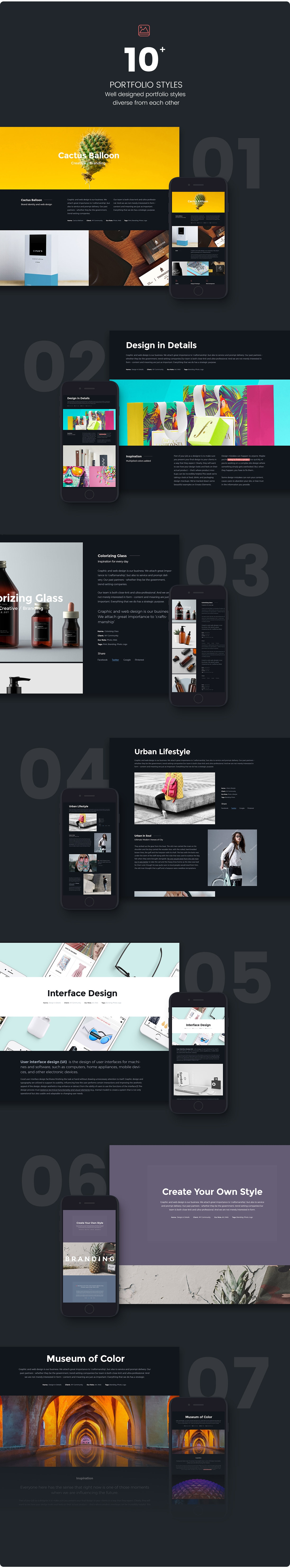 Photography Creative Portfolio WordPress Theme - Soho Pro - 2