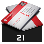 Business Card Template 74 - 21