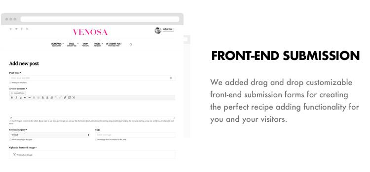 Venosa - Magazine & Blog WordPress Theme - 11
