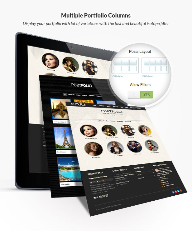Core One - Multipurpose One Page Theme - 14