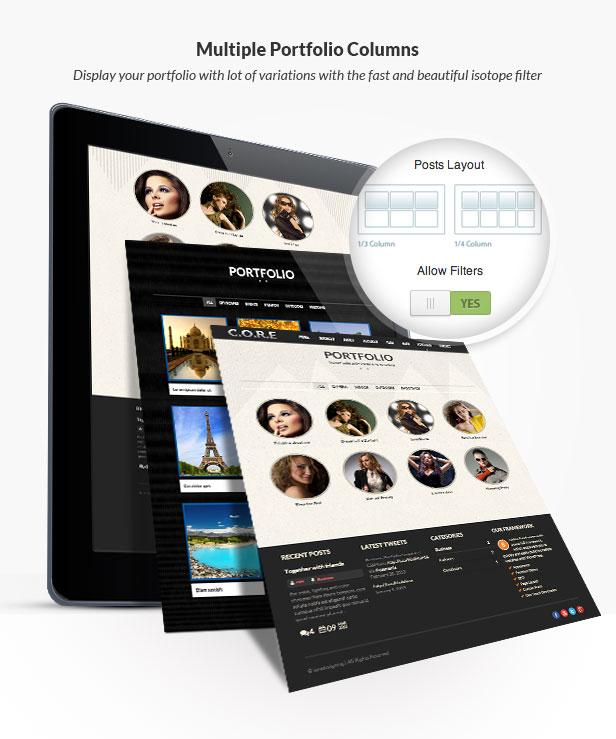 Core - OnePage Multipurpose WordPress Theme - 11