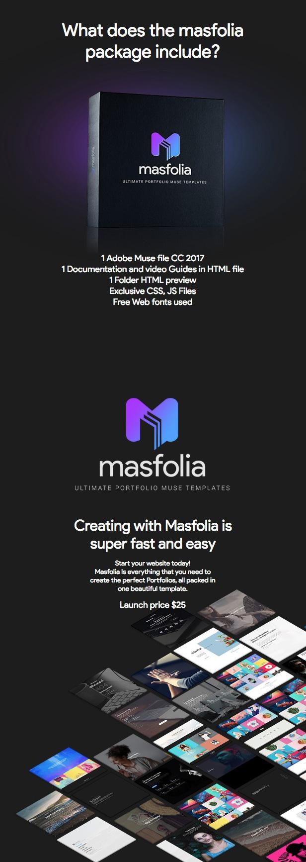 Masfolia - Ultimate Portfolio Muse Templates - 3
