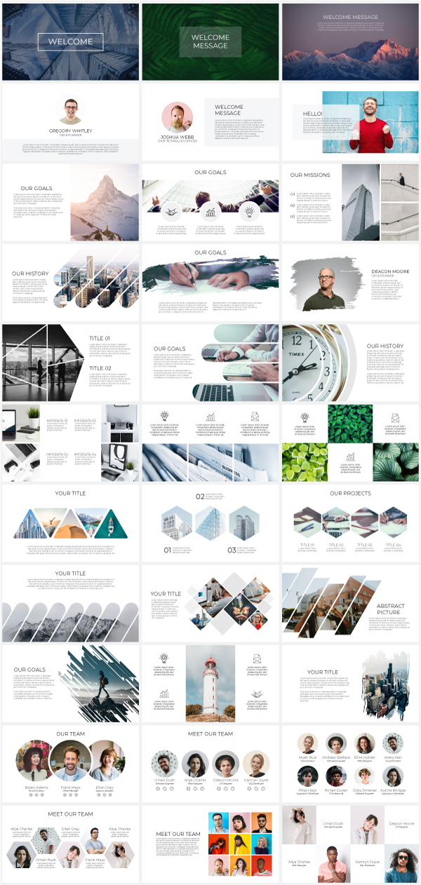Multipurpose Infographics PowerPoint Templates v.4.8 - 64