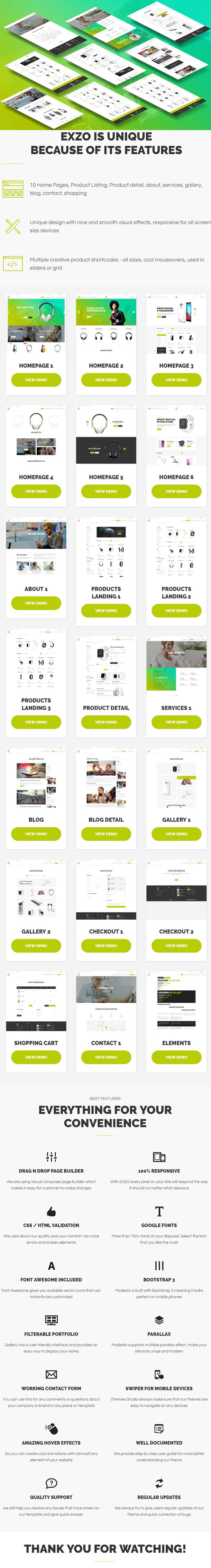 Electronics eCommerce WordPress Woocommerce Theme - Exzo - 2