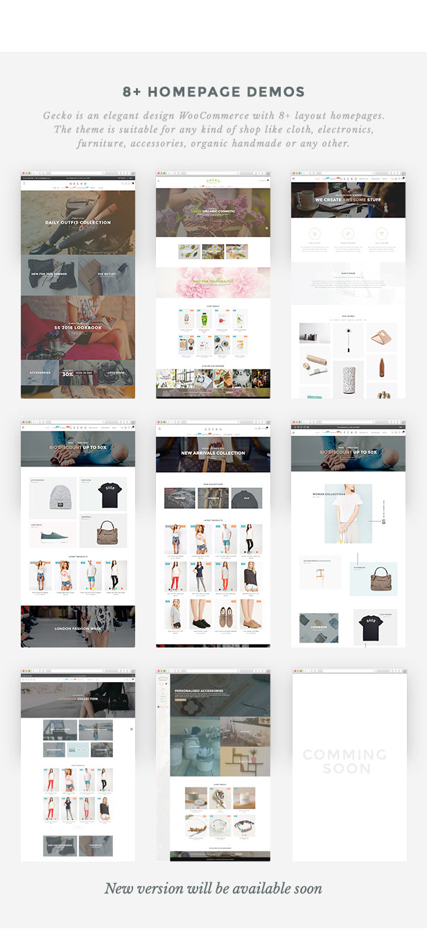 Gecko - Powerful Ajax WooCommerce Theme - 4