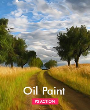 Oil Photoshop Action