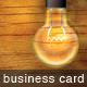 Lightbulb Business Card - 8