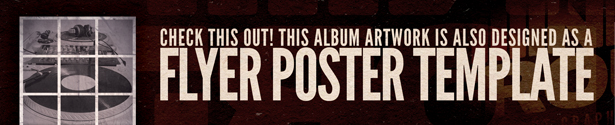 Minimal Alternative CD Album Artwork - 1