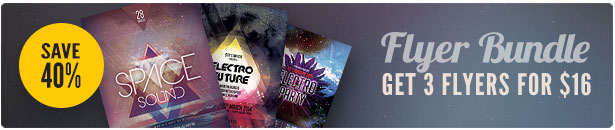 Electro Flyer Bundle Vol.04
