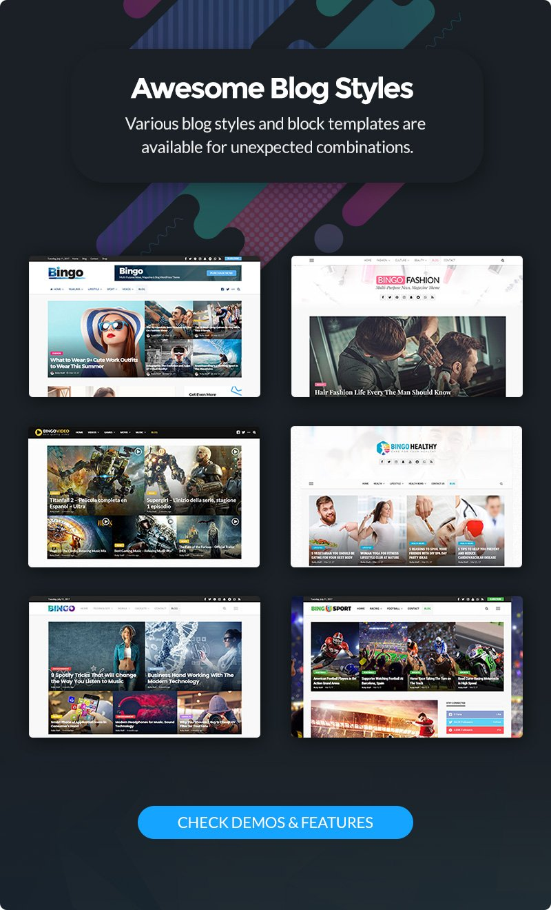 Bingo - Multi-Purpose Newspaper & Magazine Theme - 5