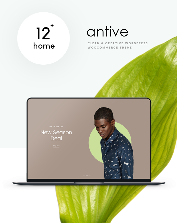 Antive - Minimal and Modern WooCommerce AJAX Theme (RTL Supported) - 2