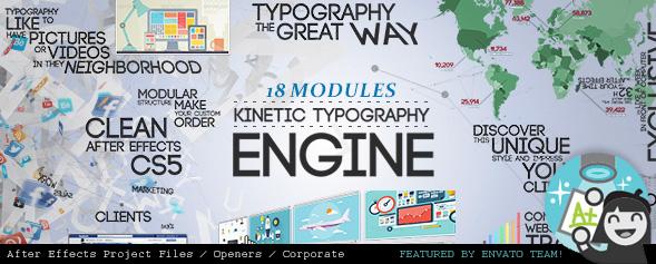 Kinetic Typography Engine