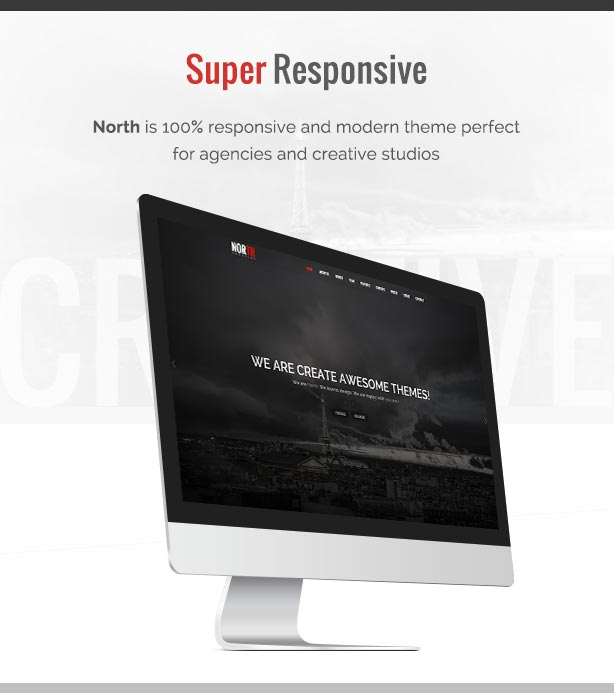 North - One Page Parallax Theme - 2