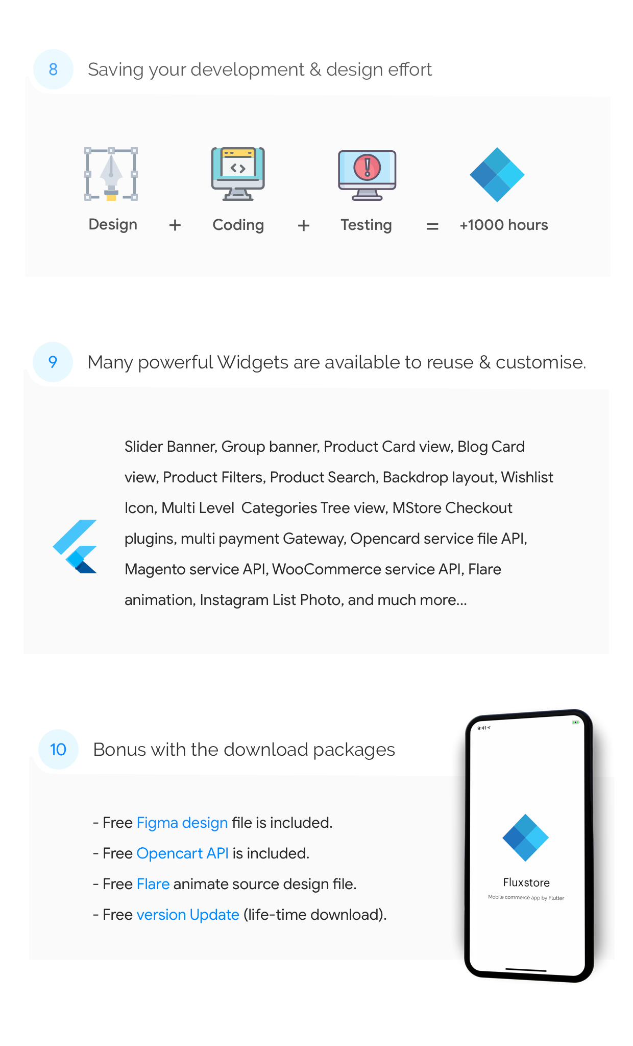 Fluxstore Pro - Flutter E-commerce Full App for Magento, Opencart, and Woocommerce - 8