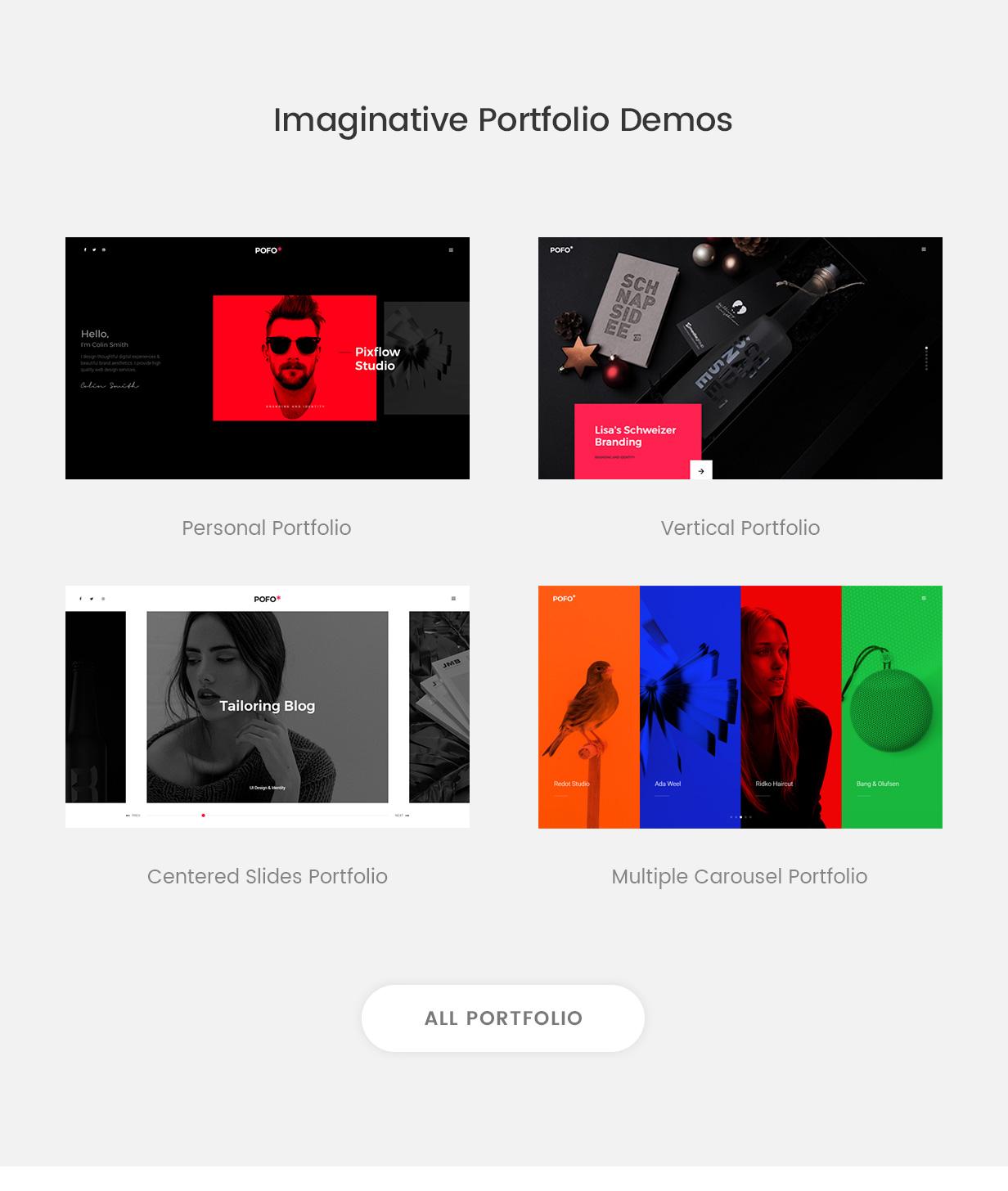Pofo v1.3.1-广告创意和博客WordPress主题插图16