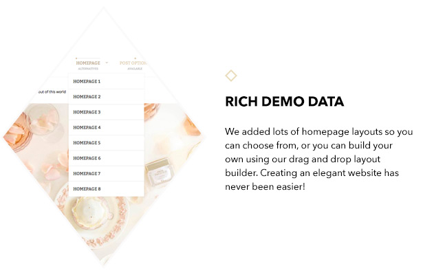 Rich demo data