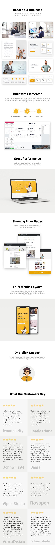 Calia - Business and Management WordPress Theme - 1