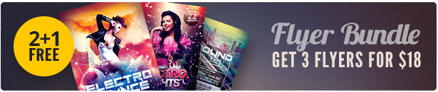 Party Flyer Bundle Vol17