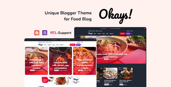 Faryfinit - Multipurpose Blogger Template