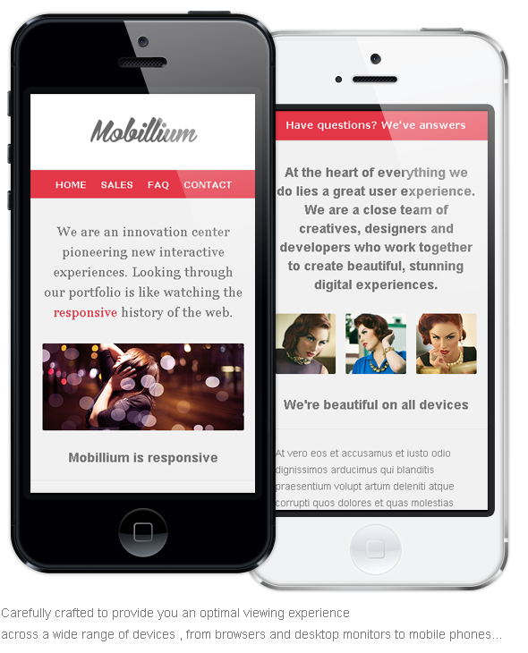 Mobillium - Responsive Email Newsletter - 6