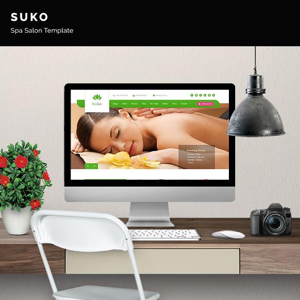 Suko - Spa Salon Template - 6