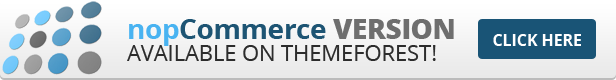 nopCommerce Template available here