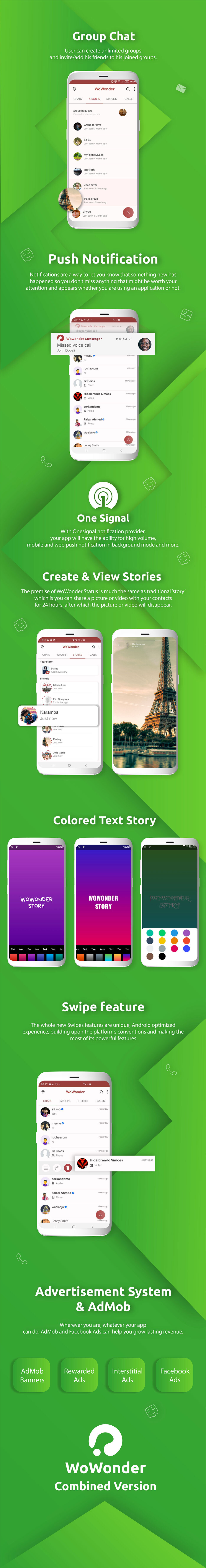 WoWonder Android Messenger - Mobile Application for WoWonder Social Script - 4