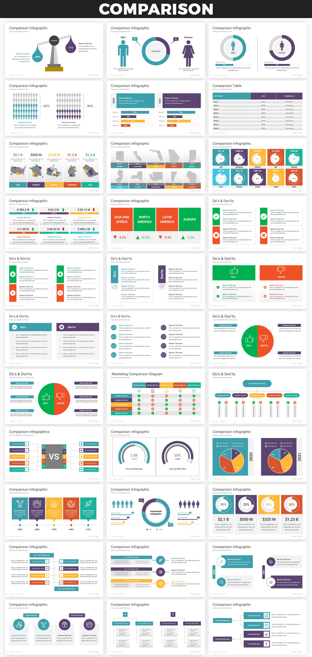 Infographics PowerPoint Bundle - 16