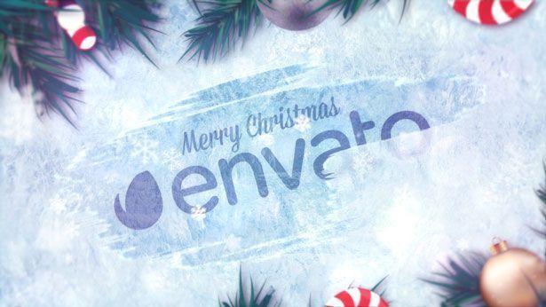 Winter Holidays Logo Reveal - 3