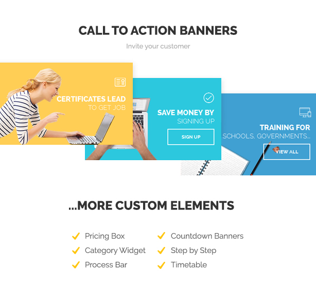 Skilled | School Education Courses WordPress Theme - 5
