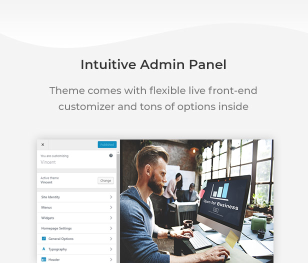 Finax | Responsive Business Consulting WordPress Theme - 10