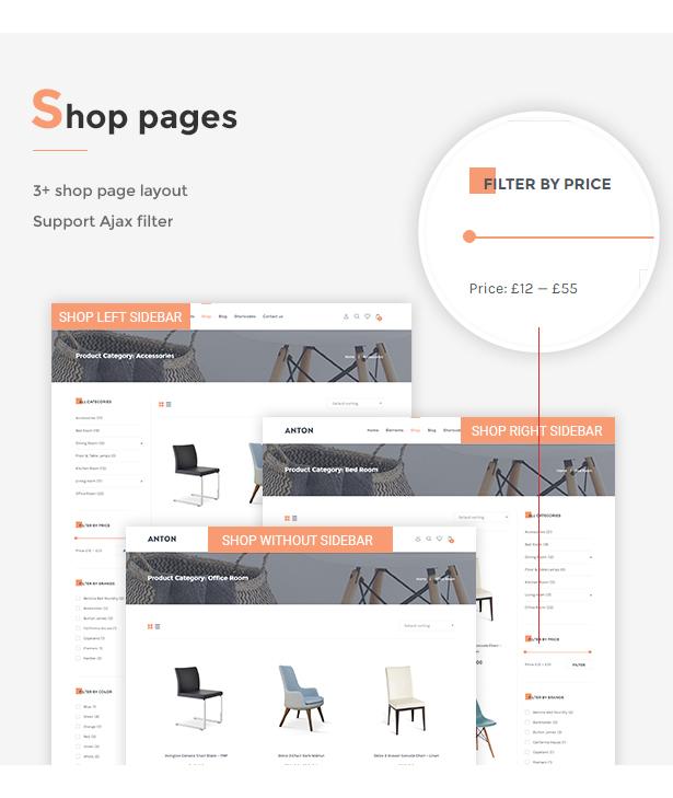 SNS Anton - Furniture WooCommerce WordPress Theme - 4