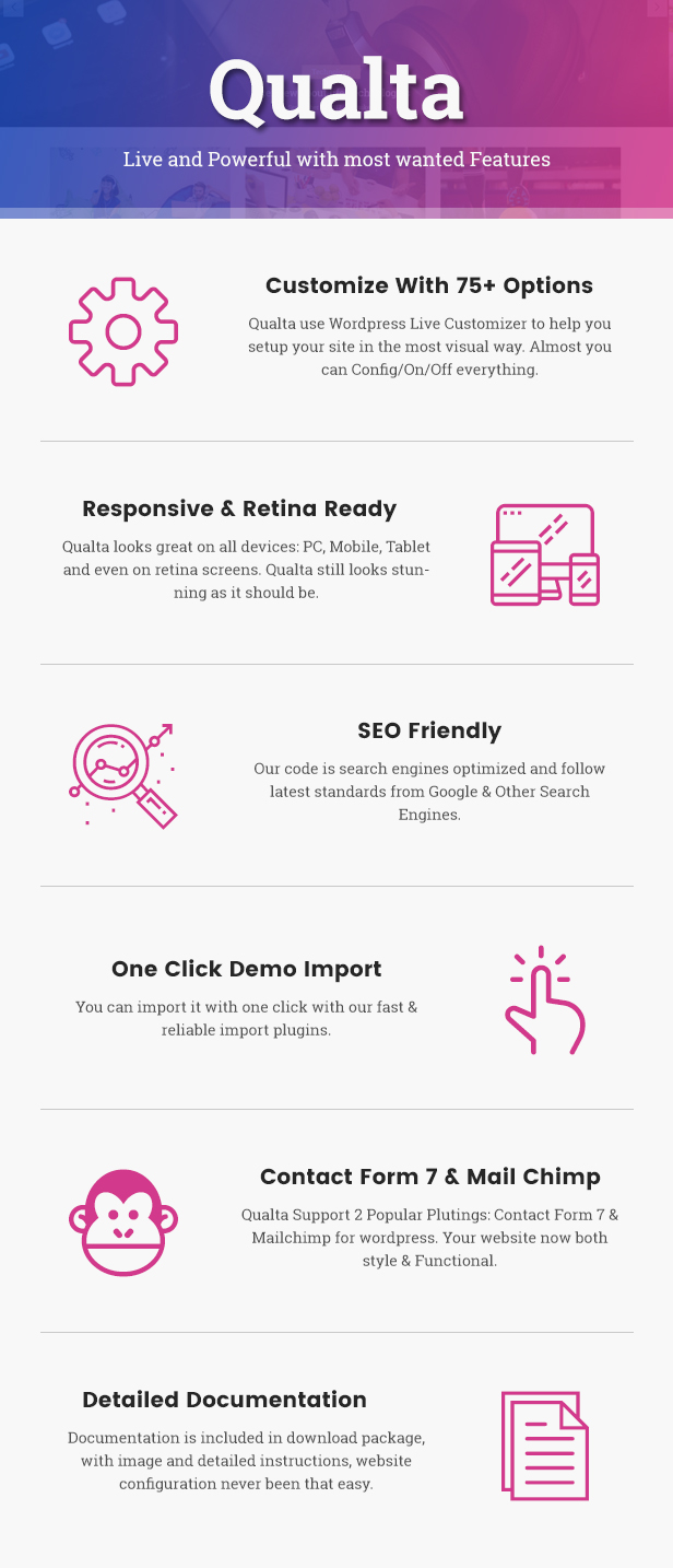 Qualta - Responsive WordPress Blog Theme - 9