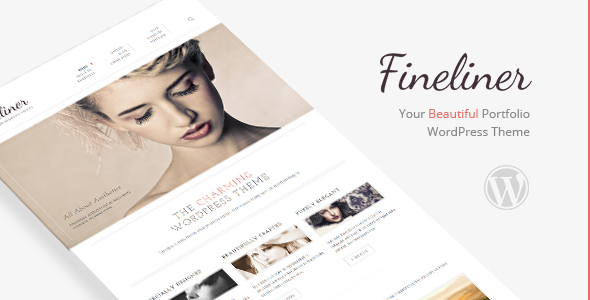 Fineliner - Responsive Portfolio WordPress Theme
