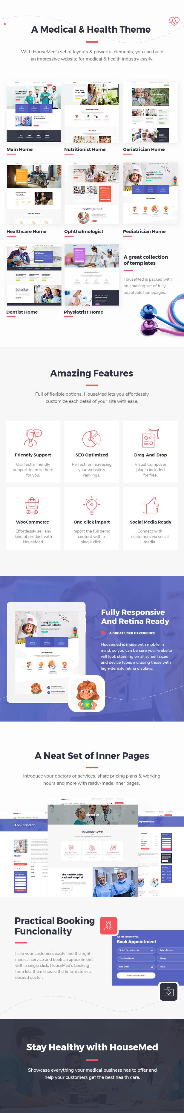 HouseMed - Multipurpose Medical and Health Theme - 1