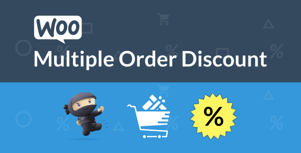 WooCommerce Multiple Order Discount