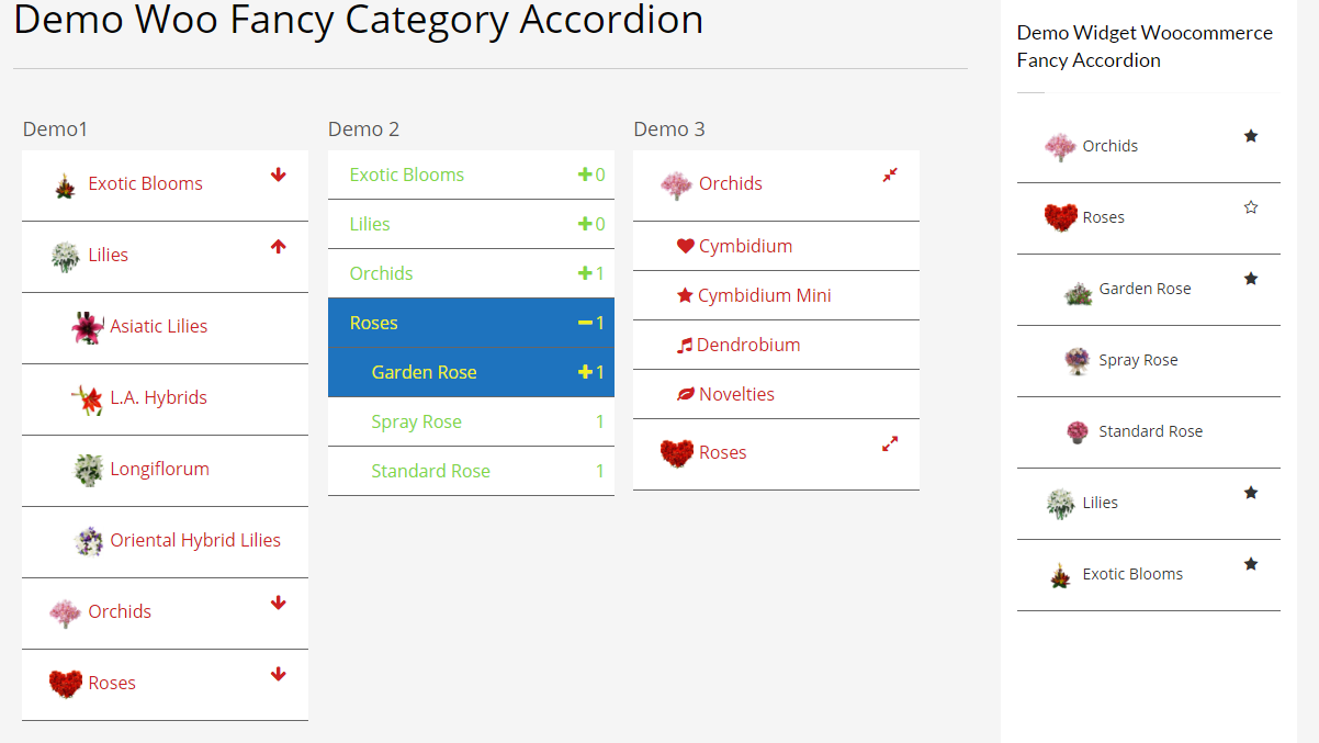 Woocommerce Fancy Category Accordion - 4