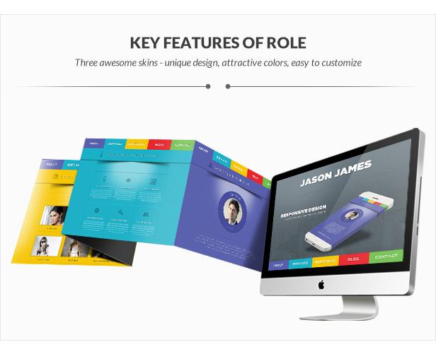 Role Portfolio | One Page Portfolio WordPress Theme - 4
