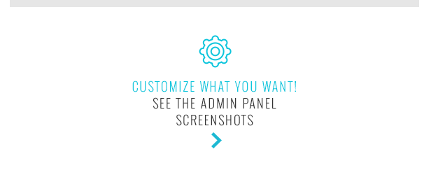 Customize what you want