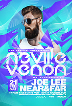 Electro DJ Concert Party Flyer Template