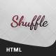 Shuffle VCard - ThemeForest Item for Sale