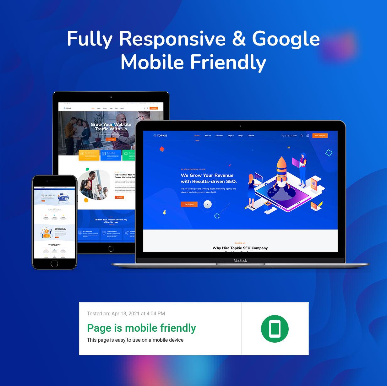 topkie - Tema WordPress para SEO y marketing digital