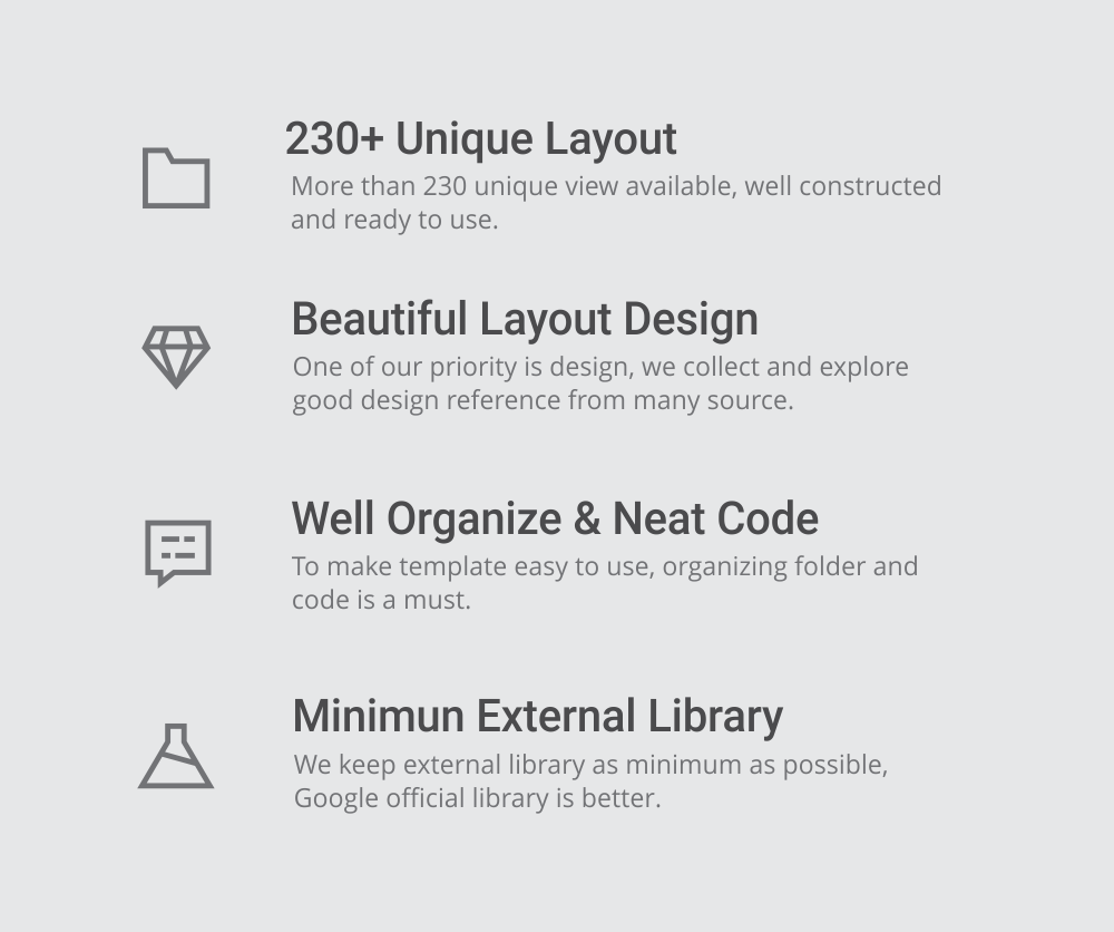 MaterialX - Android Material Design UI Components 2.6 - 3