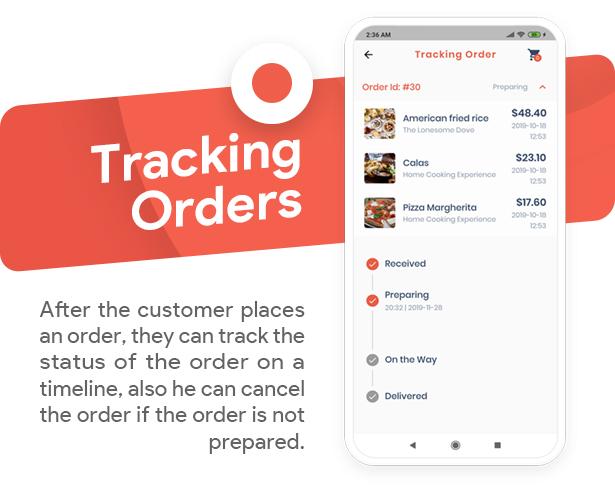 Food Delivery Flutter   PHP Laravel Admin Panel - 12