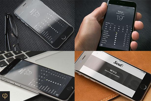 iPhone 6 Mockups Leather - 5