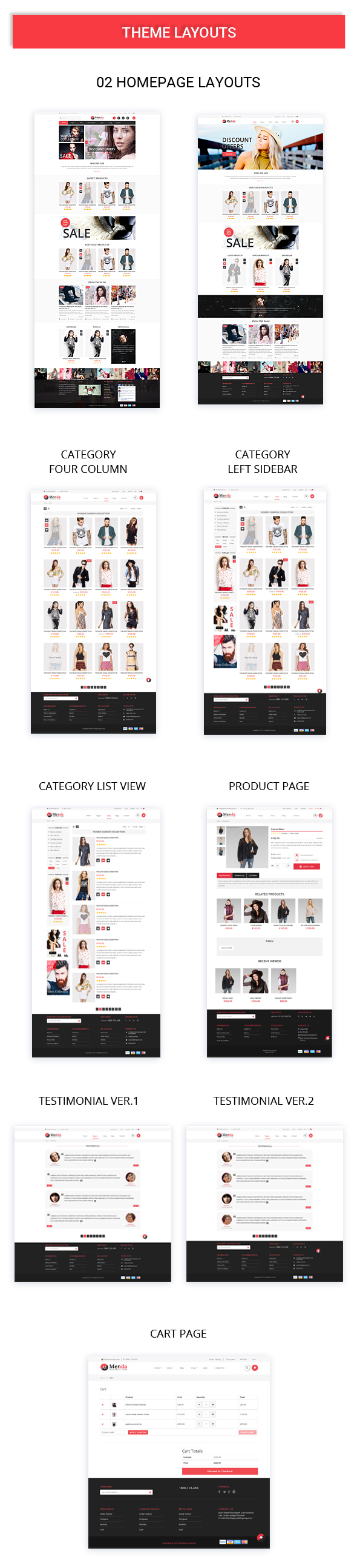 Menda - Ecommerce WordPress Themes - 10