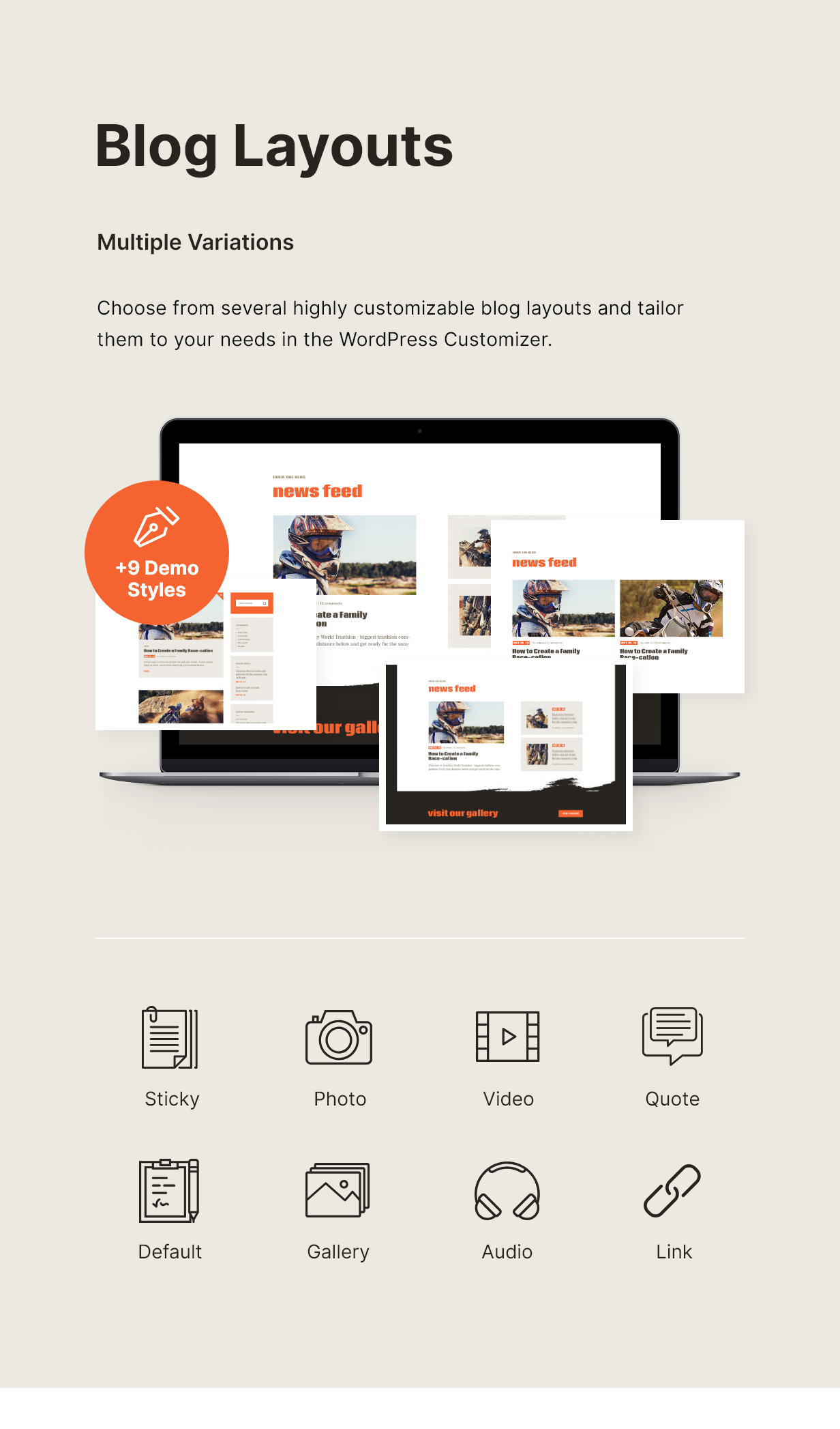 Corredo | Bike Race & Sports Events WordPress Theme - 4
