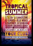 Tropical SummerFlyer